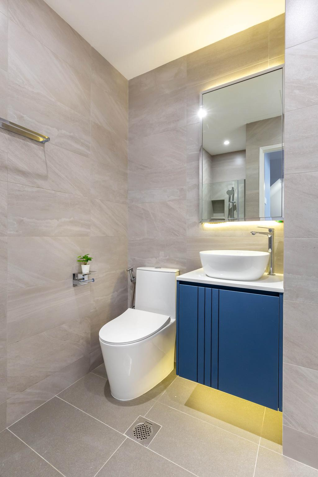 Contemporary, Landed, Bathroom, Chwee Chian Road, Interior Designer, Divine & Glitz