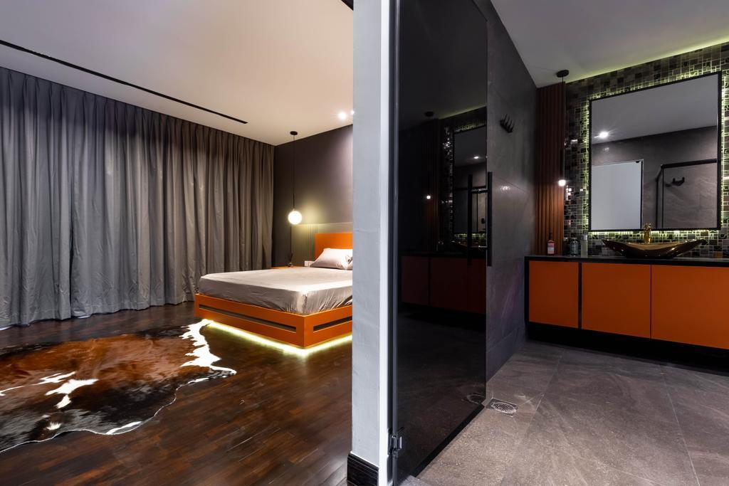 Contemporary, Landed, Bedroom, Chwee Chian Road, Interior Designer, Divine & Glitz