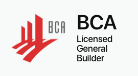 BCA Licensed General Builder