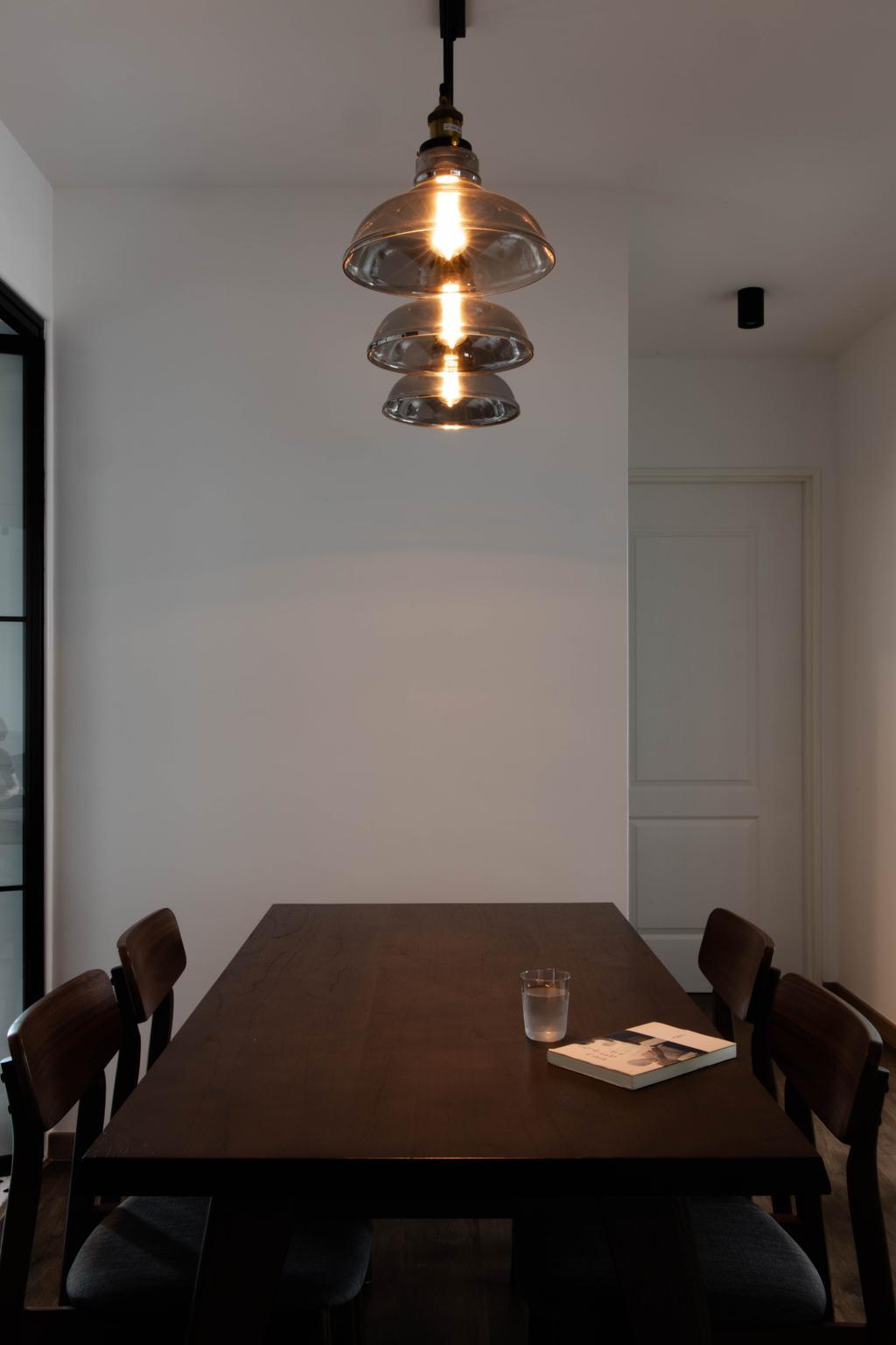 Modern, HDB, Dining Room, Bedok North Road, Interior Designer, Fifth Avenue Interior