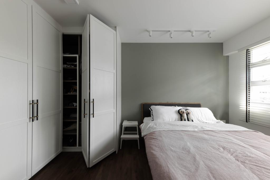 Modern, HDB, Bedroom, Bedok North Road, Interior Designer, Fifth Avenue Interior