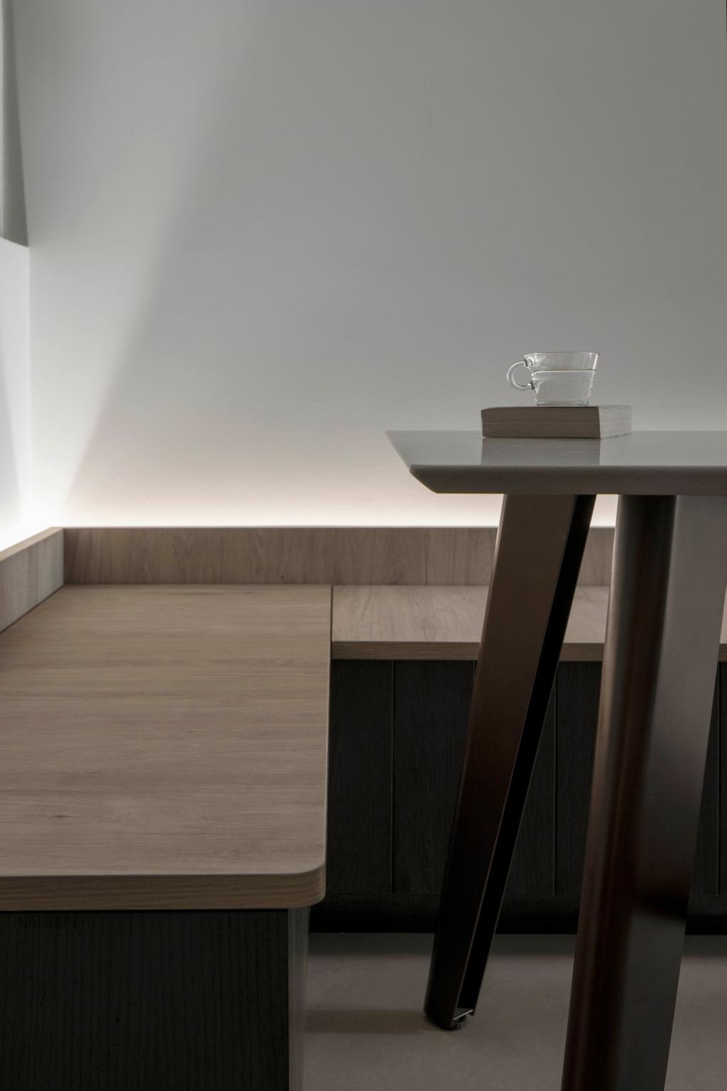 Contemporary, Condo, Dining Room, Hundred Palms Residences, Interior Designer, Fifth Avenue Interior