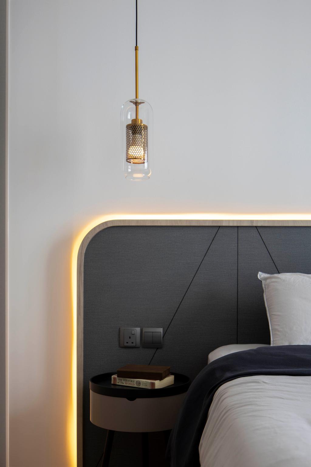 Contemporary, Condo, Bedroom, Hundred Palms Residences, Interior Designer, Fifth Avenue Interior