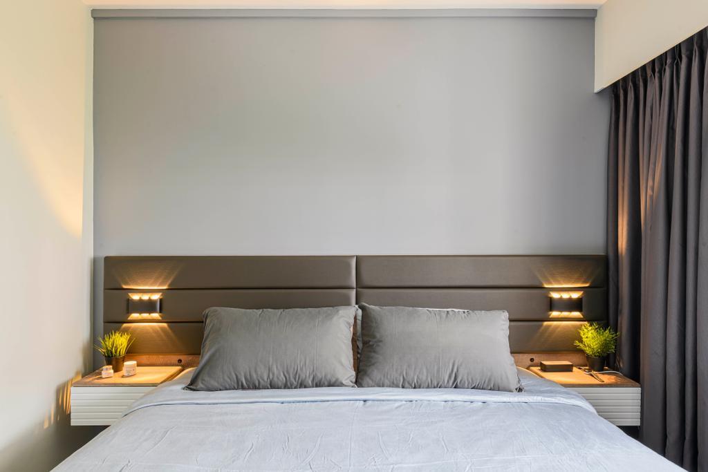 Modern, HDB, Bedroom, Pasir Ris Street 21, Interior Designer, Glamour Concept, Contemporary