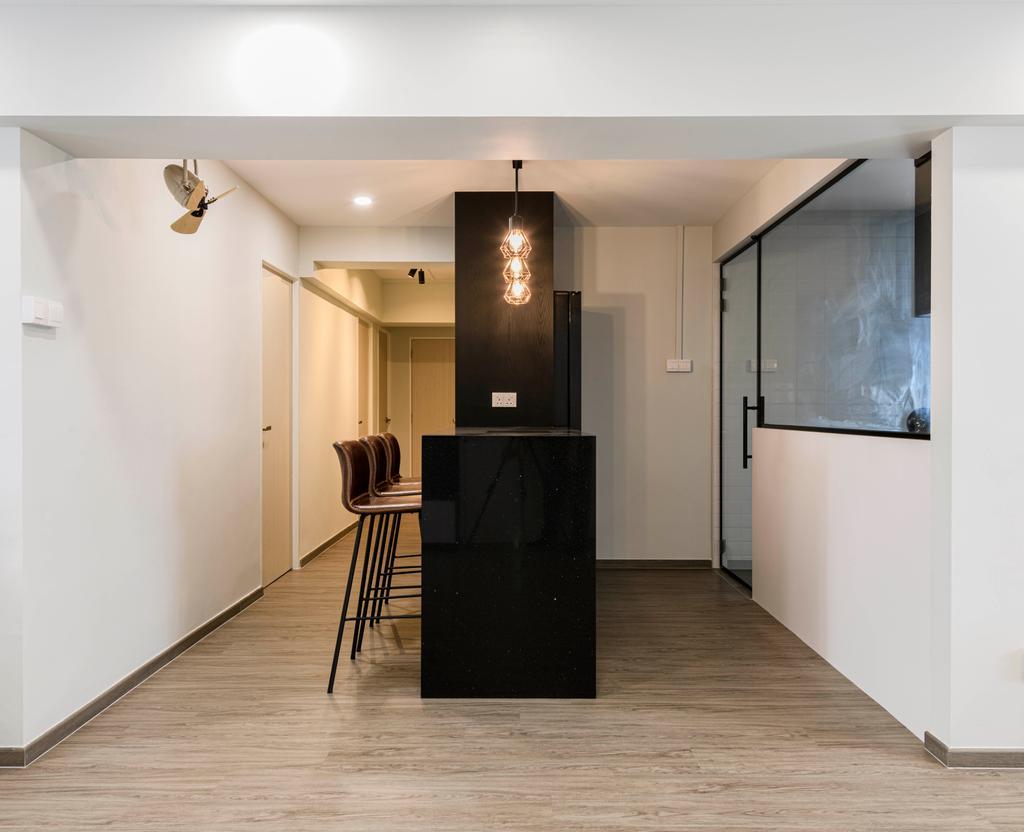 Modern, HDB, Dining Room, Pasir Ris Street 21, Interior Designer, Glamour Concept, Contemporary