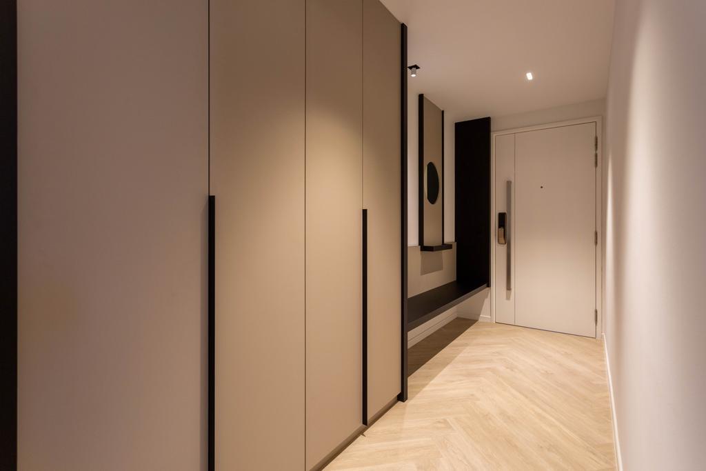 Contemporary, Condo, Cityscape @ Farrer Park, Interior Designer, Habit