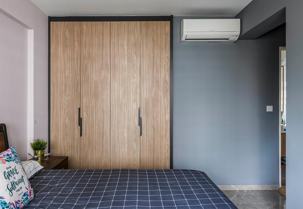 Scandinavian, HDB, Bedroom, Bedok North, Interior Designer, Project Guru, Contemporary