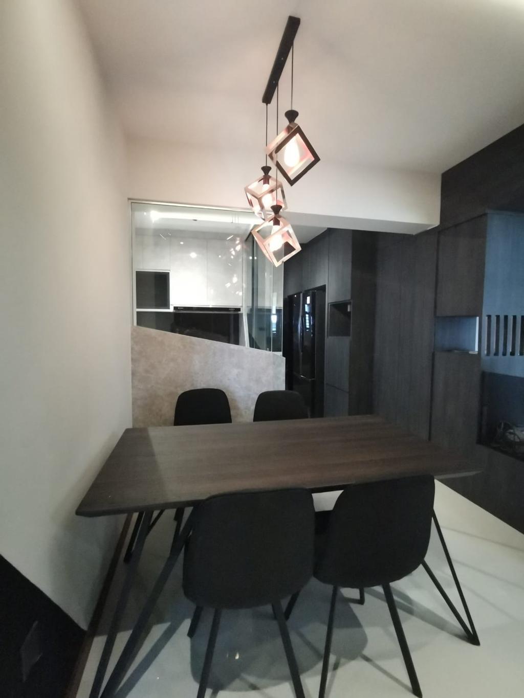 Contemporary, HDB, Dining Room, Tampines Street 61, Interior Designer, oddcreative