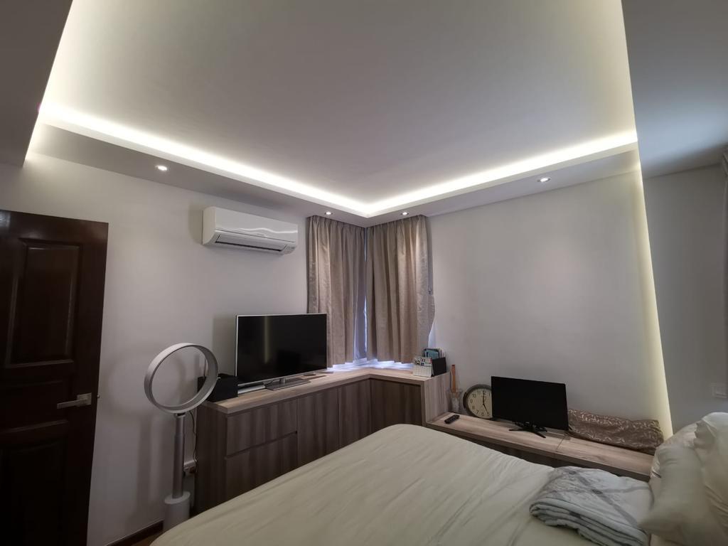 Modern, HDB, Bedroom, Compassvale Road, Interior Designer, oddcreative, Contemporary