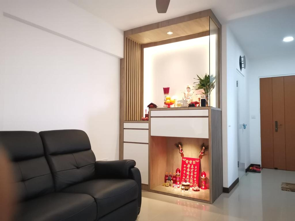 Modern, HDB, Living Room, Woodlands Street 13, Interior Designer, oddcreative, Scandinavian