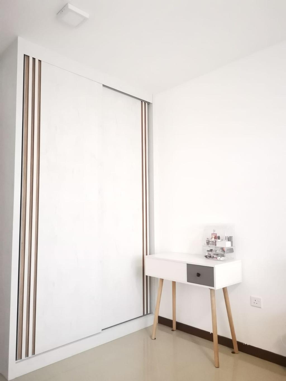 Modern, HDB, Bedroom, Woodlands Street 13, Interior Designer, oddcreative, Scandinavian