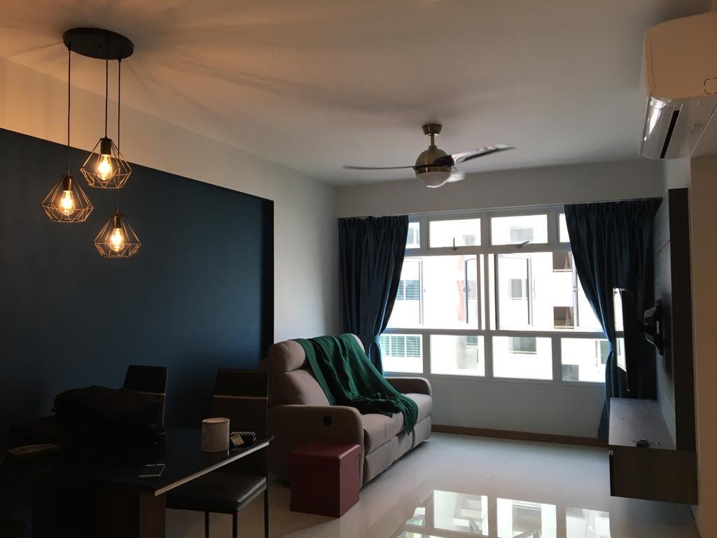 Contemporary, HDB, Living Room, Bukit Batok West Avenue 6, Interior Designer, oddcreative