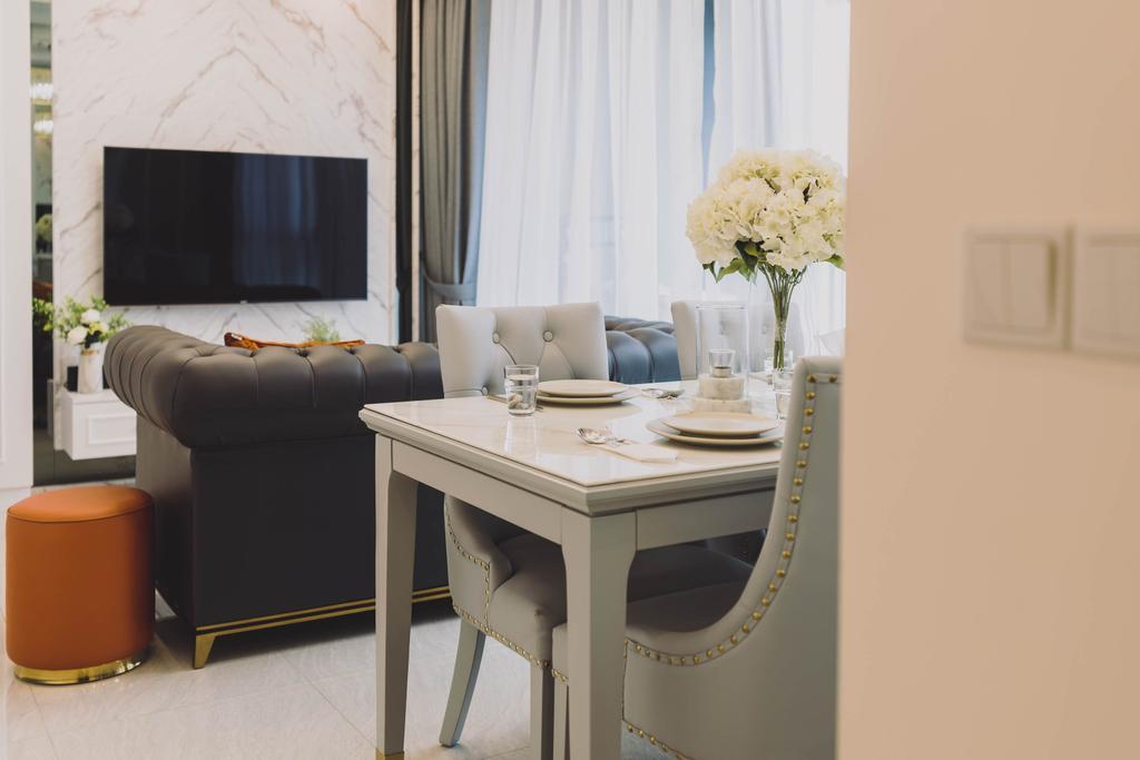Modern, Condo, Living Room, Gem Residences, Interior Designer, Artmuse Interior, Contemporary