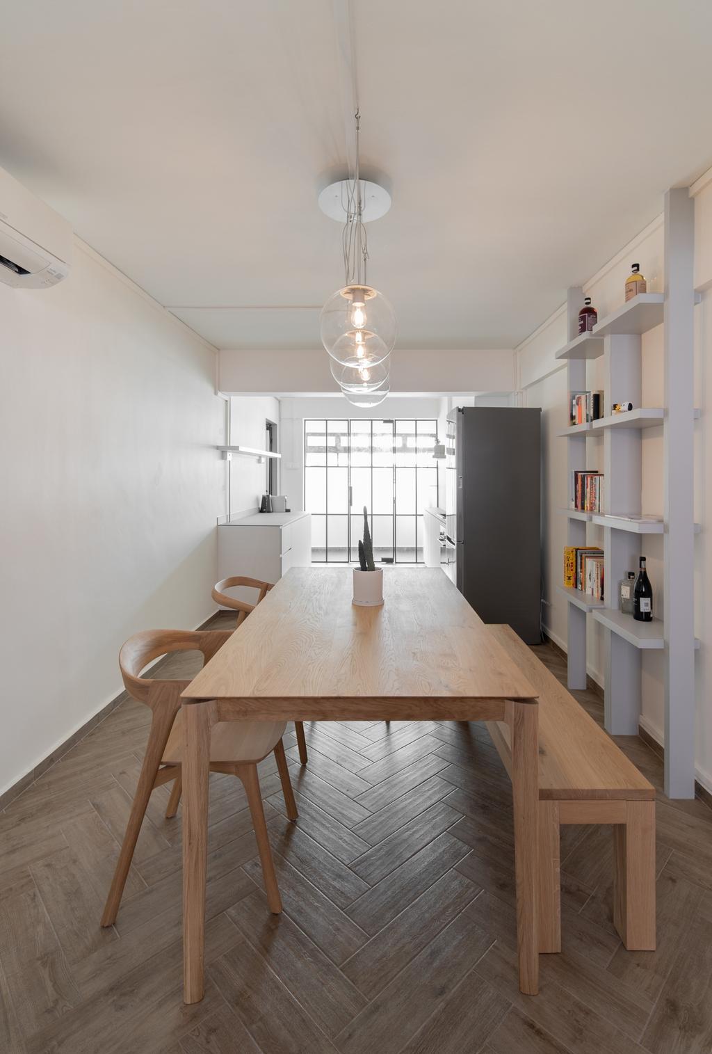 Contemporary, HDB, Dining Room, Telok Blangah Drive, Interior Designer, Arche Interior