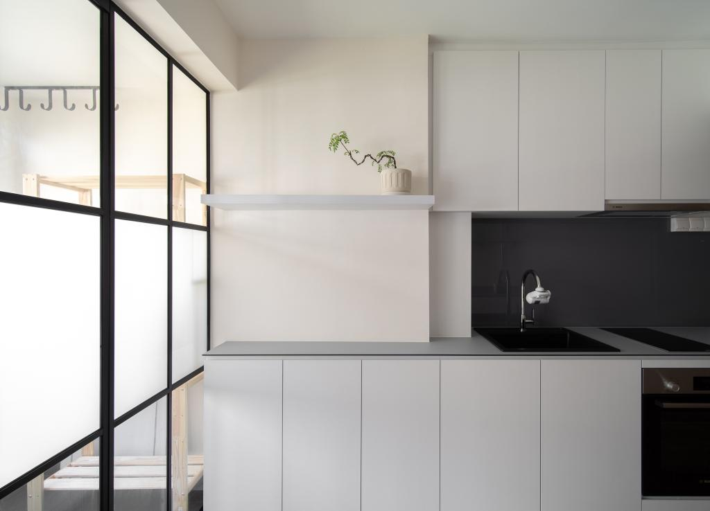 Contemporary, HDB, Kitchen, Telok Blangah Drive, Interior Designer, Arche Interior