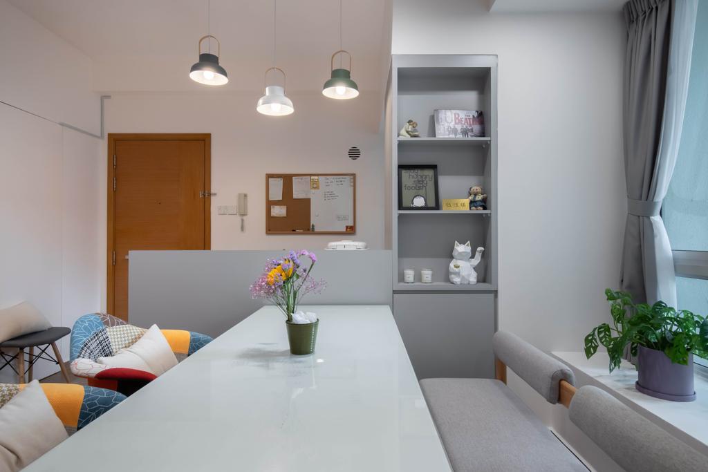 Contemporary, Condo, Dining Room, The Stellar, Interior Designer, Craftwerkz Interior, Scandinavian