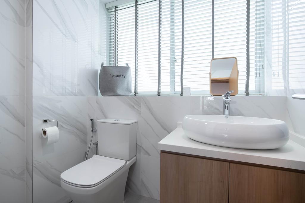 Contemporary, Condo, Bathroom, The Stellar, Interior Designer, Craftwerkz Interior, Scandinavian