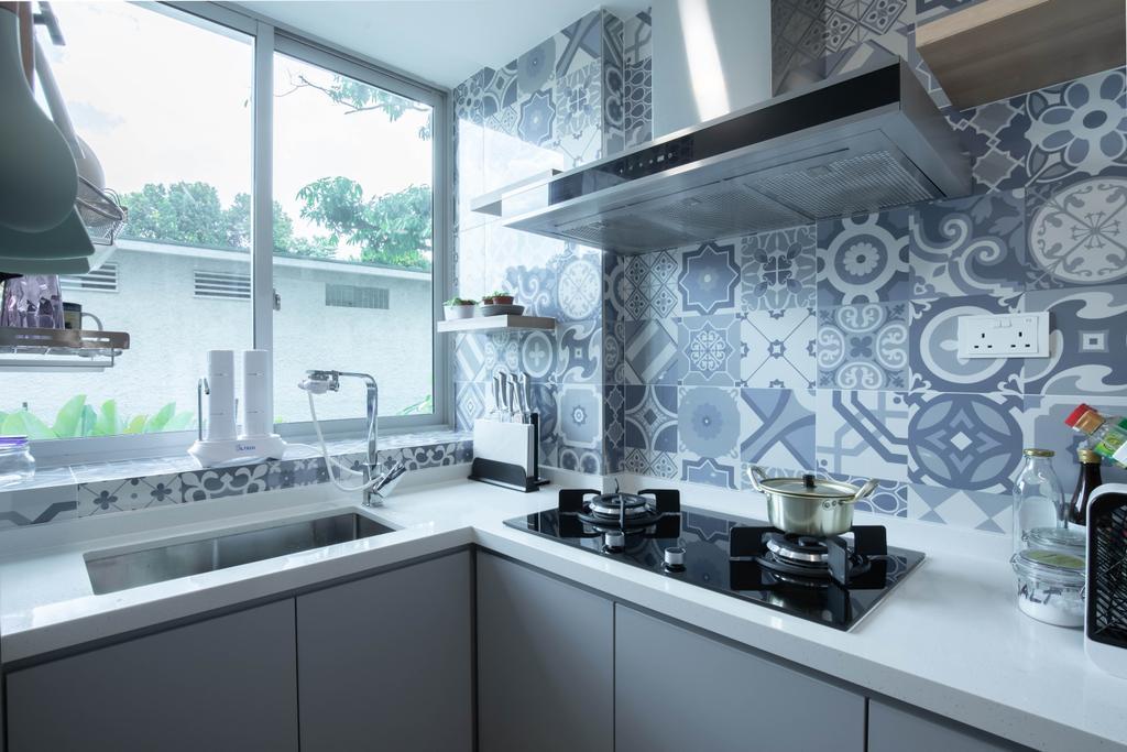 Contemporary, Condo, Kitchen, The Stellar, Interior Designer, Craftwerkz Interior, Scandinavian