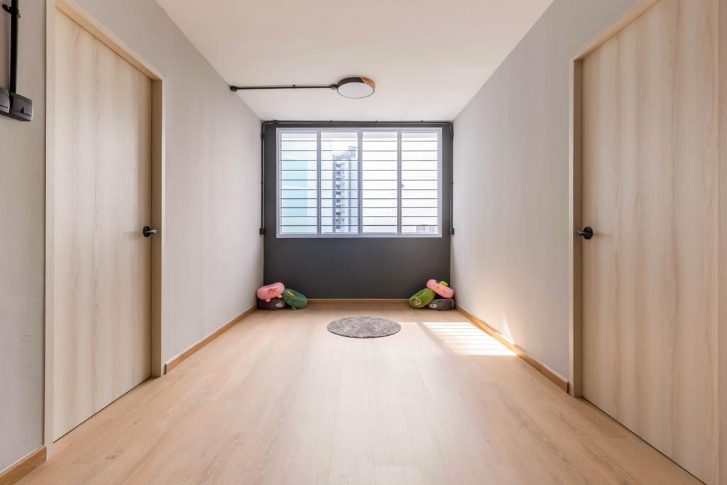 Contemporary, HDB, Living Room, Yung Loh Road, Interior Designer, Craftsmen Atelier, Scandinavian