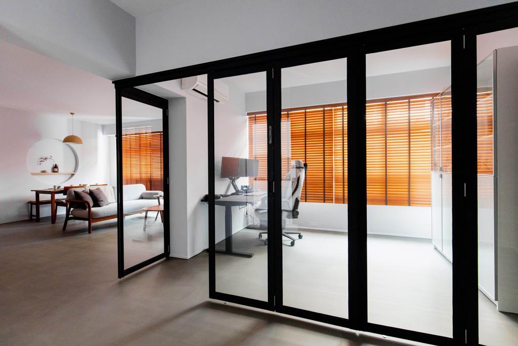 Modern, HDB, Study, Holland Drive, Interior Designer, Forefront Interior, Scandinavian