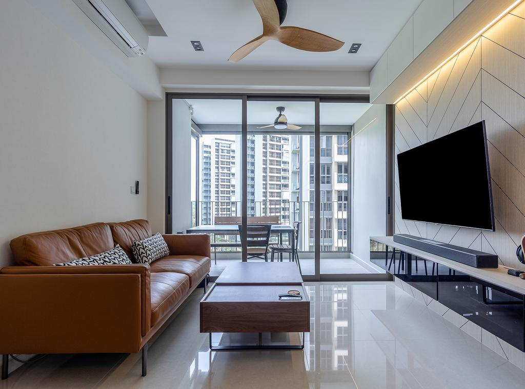 Contemporary, Condo, Living Room, Rivercove Residences, Interior Designer, Design Story