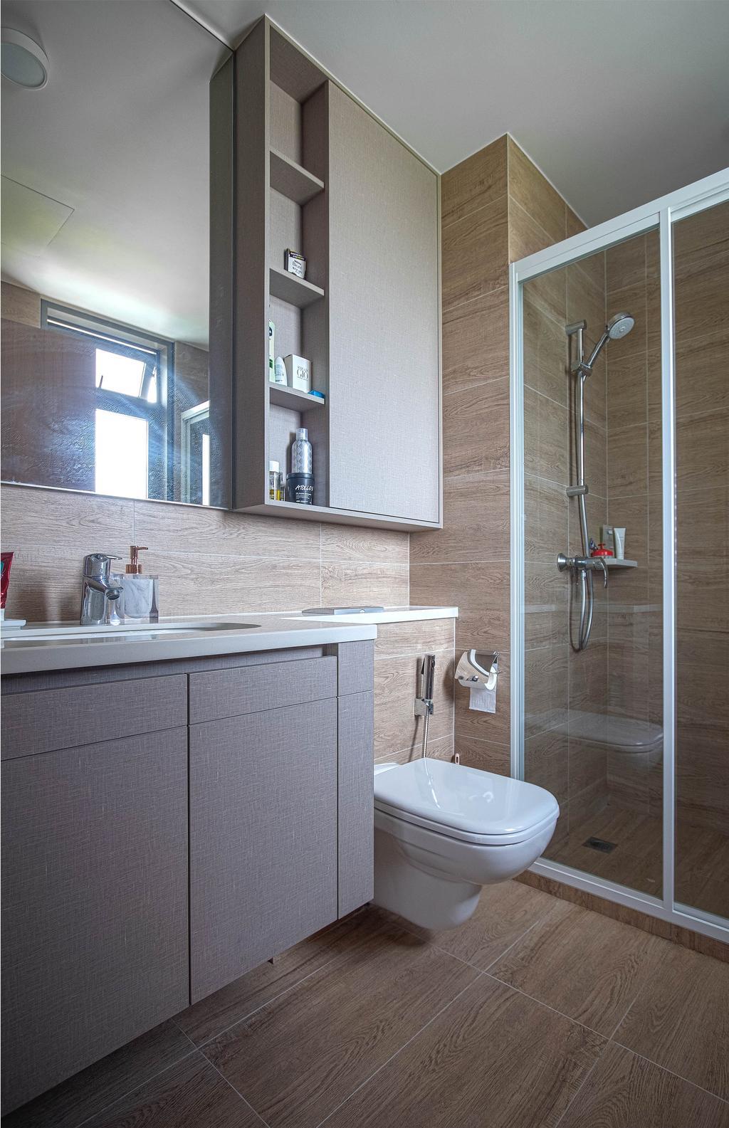 Contemporary, Condo, Bathroom, Rivercove Residences, Interior Designer, Design Story