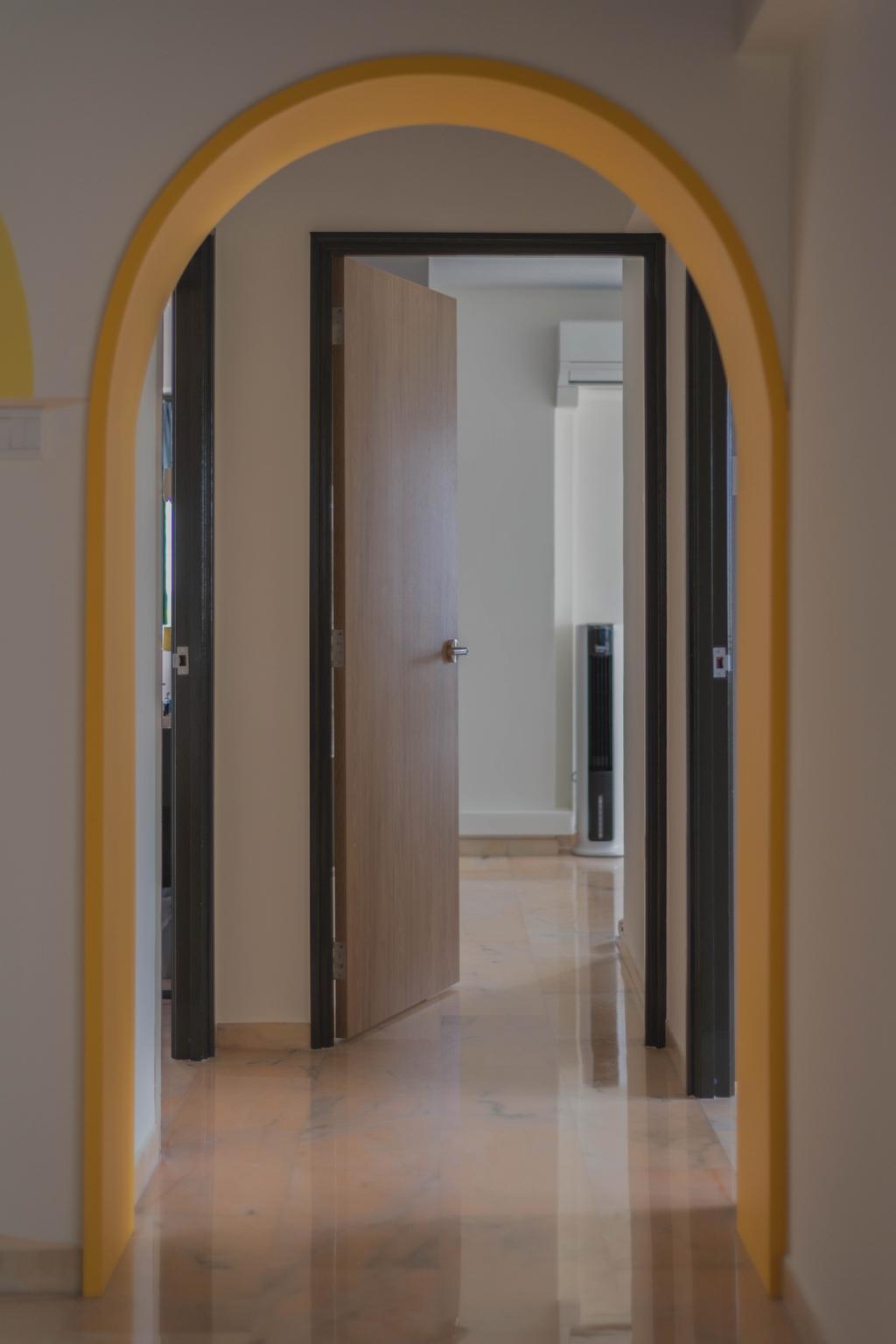 Contemporary, HDB, Canberra Road, Interior Designer, Urban Home Design 二本設計家, Scandinavian