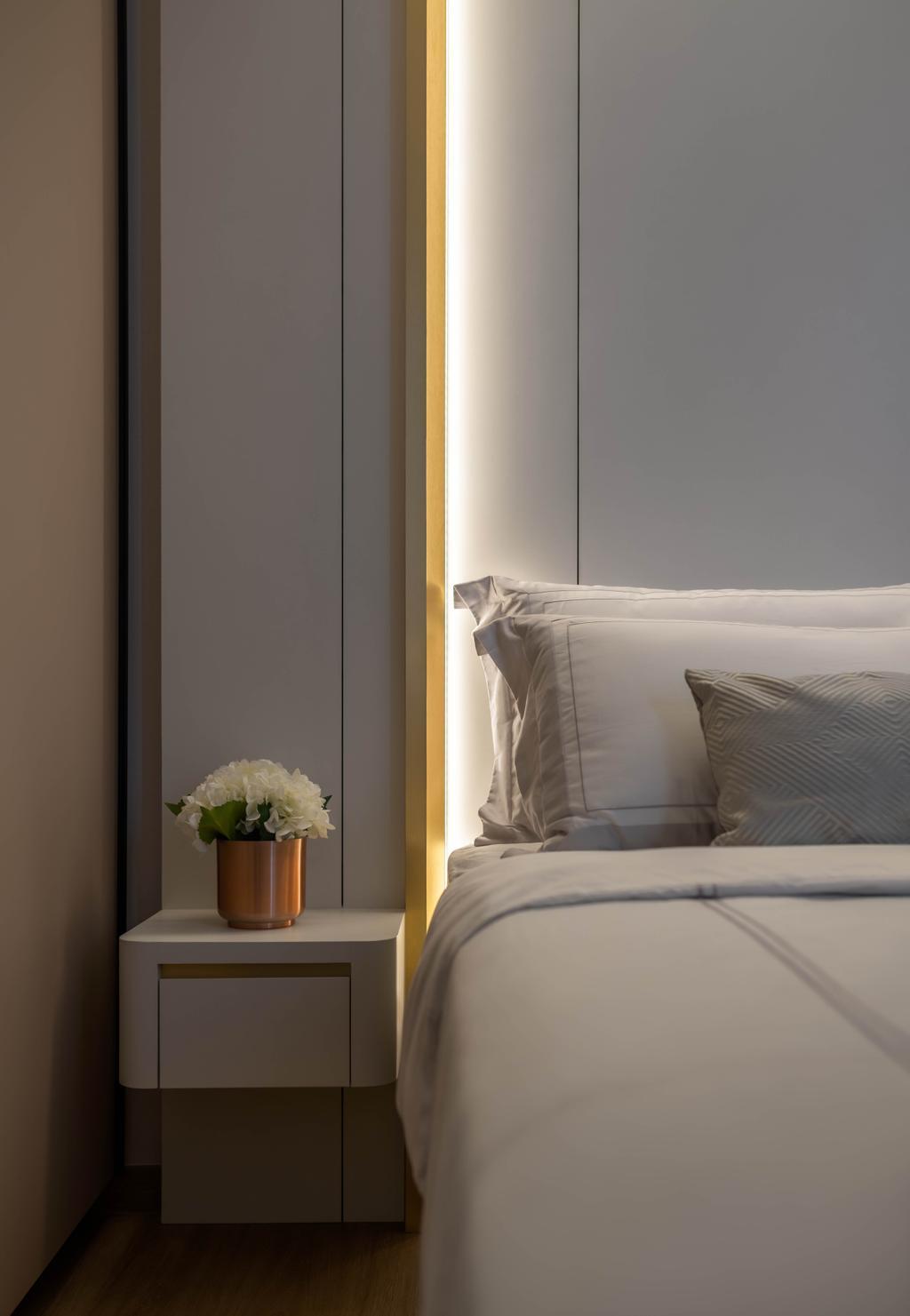 Modern, Condo, Bedroom, Le Quest, Interior Designer, Weiken.com