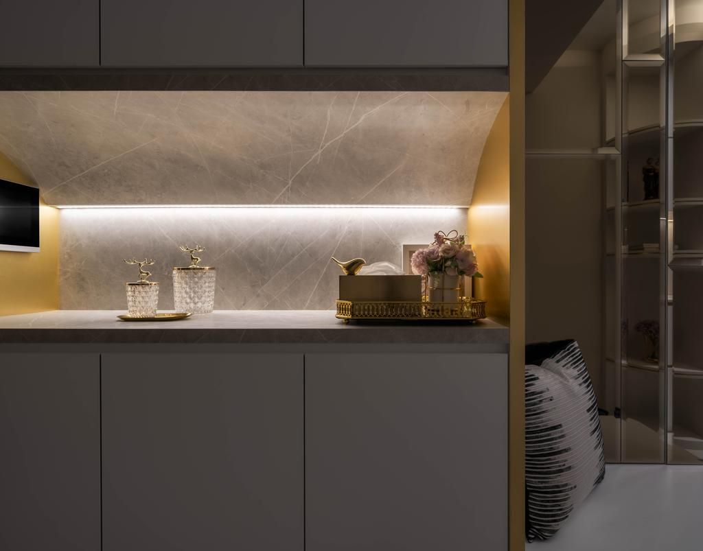 Modern, Condo, Living Room, Le Quest, Interior Designer, Weiken.com
