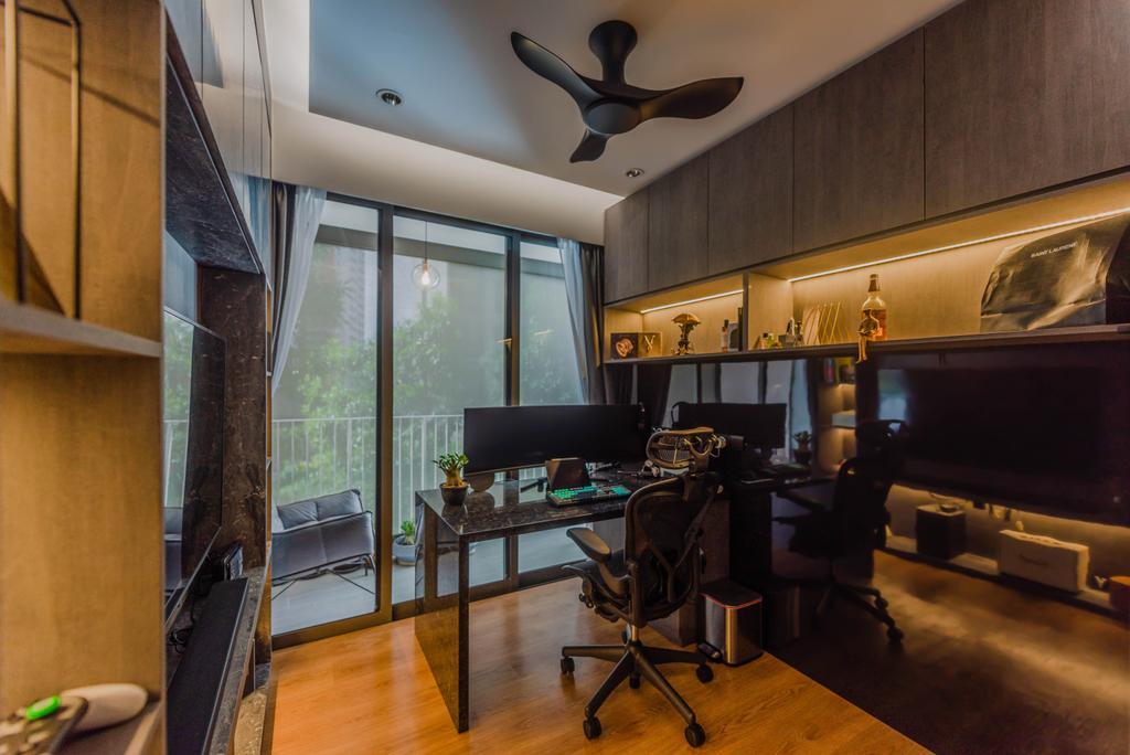 Contemporary, Condo, Study, Rivercove Residences, Interior Designer, Stylemyspace