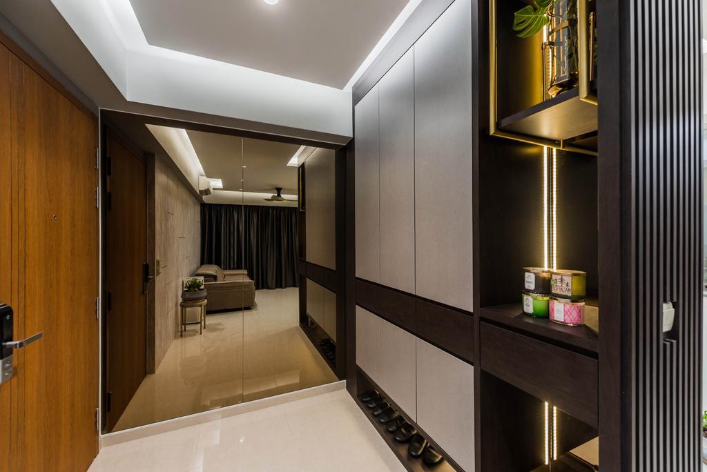 Contemporary, Condo, Living Room, Rivercove Residences, Interior Designer, Stylemyspace
