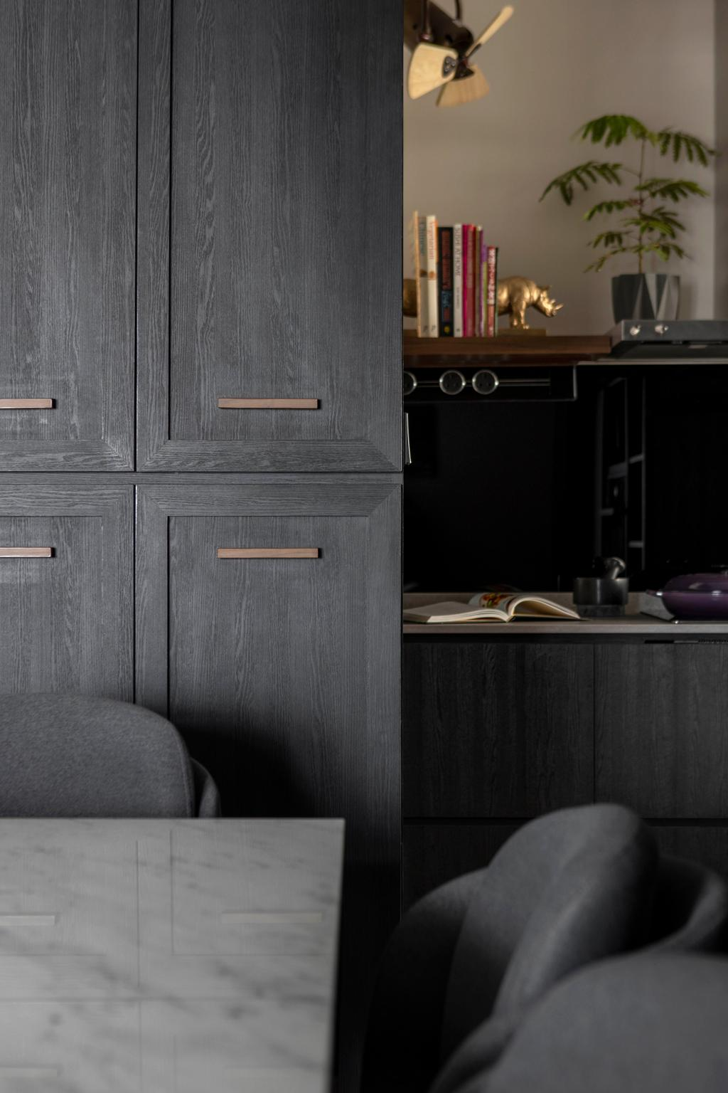 Contemporary, HDB, Dining Room, Woodlands Avenue 1, Interior Designer, Prozfile Design