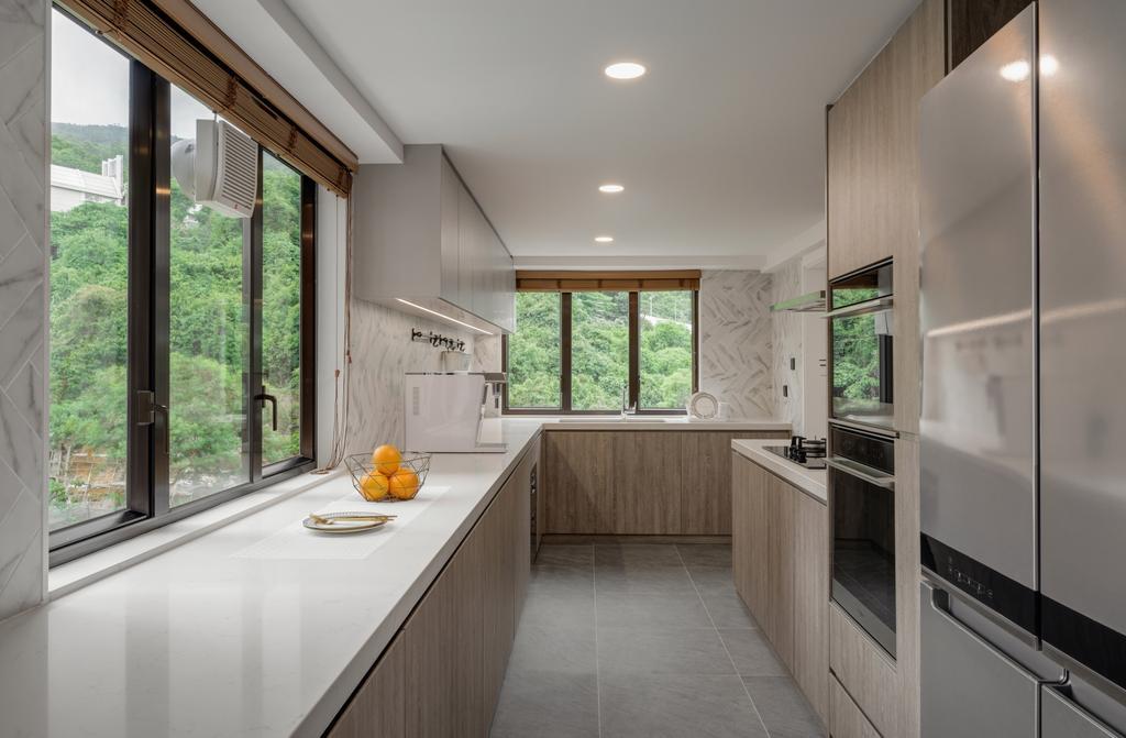 當代, 私家樓, 廚房, 新麗苑, 室內設計師, AQUA Projects