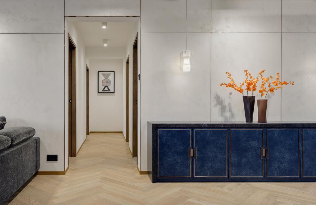 當代, 私家樓, 客廳, 新麗苑, 室內設計師, AQUA Projects