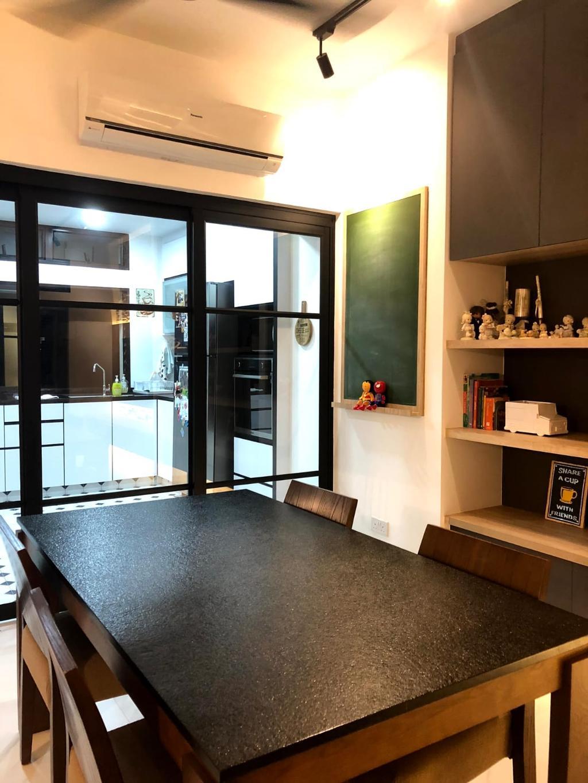 Contemporary, Condo, Dining Room, The Sunniflora, Interior Designer, Ingenious Design Solutions