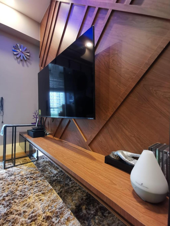 Modern, Condo, Living Room, Espada, Interior Designer, Ingenious Design Solutions