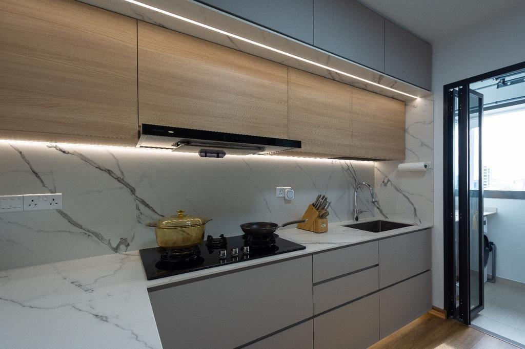 Contemporary, HDB, Bedroom, Clementi, Interior Designer, Brown Studio Interior Design, Scandinavian