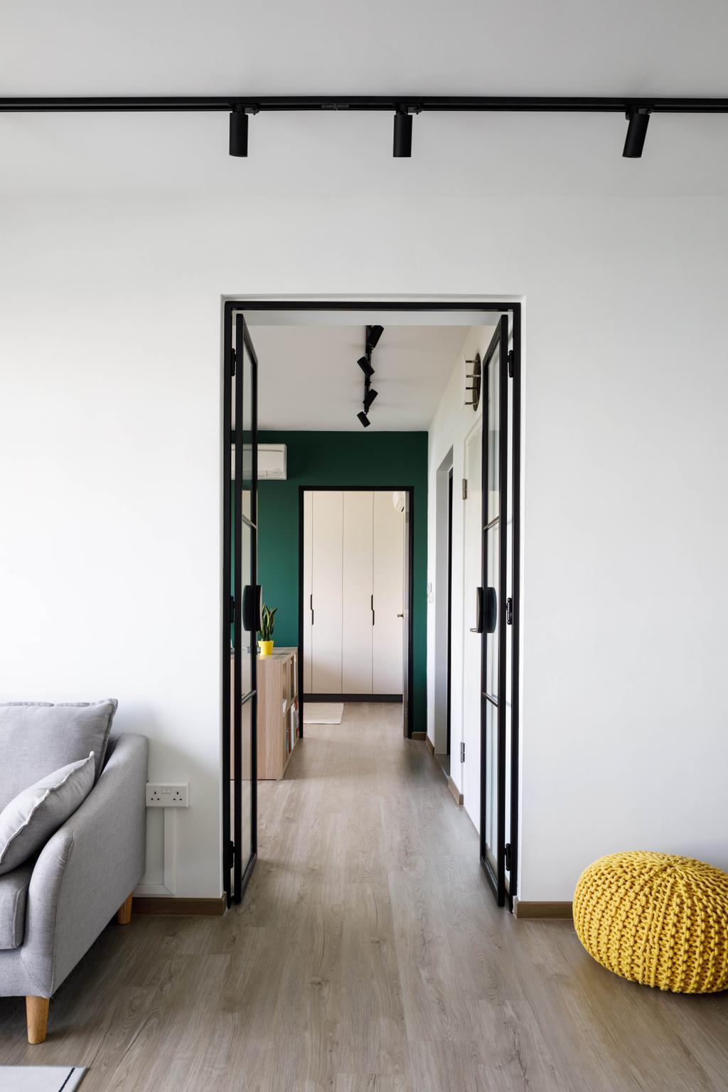 Scandinavian, HDB, Living Room, Compassvale Lane, Interior Designer, ELPIS Interior Design