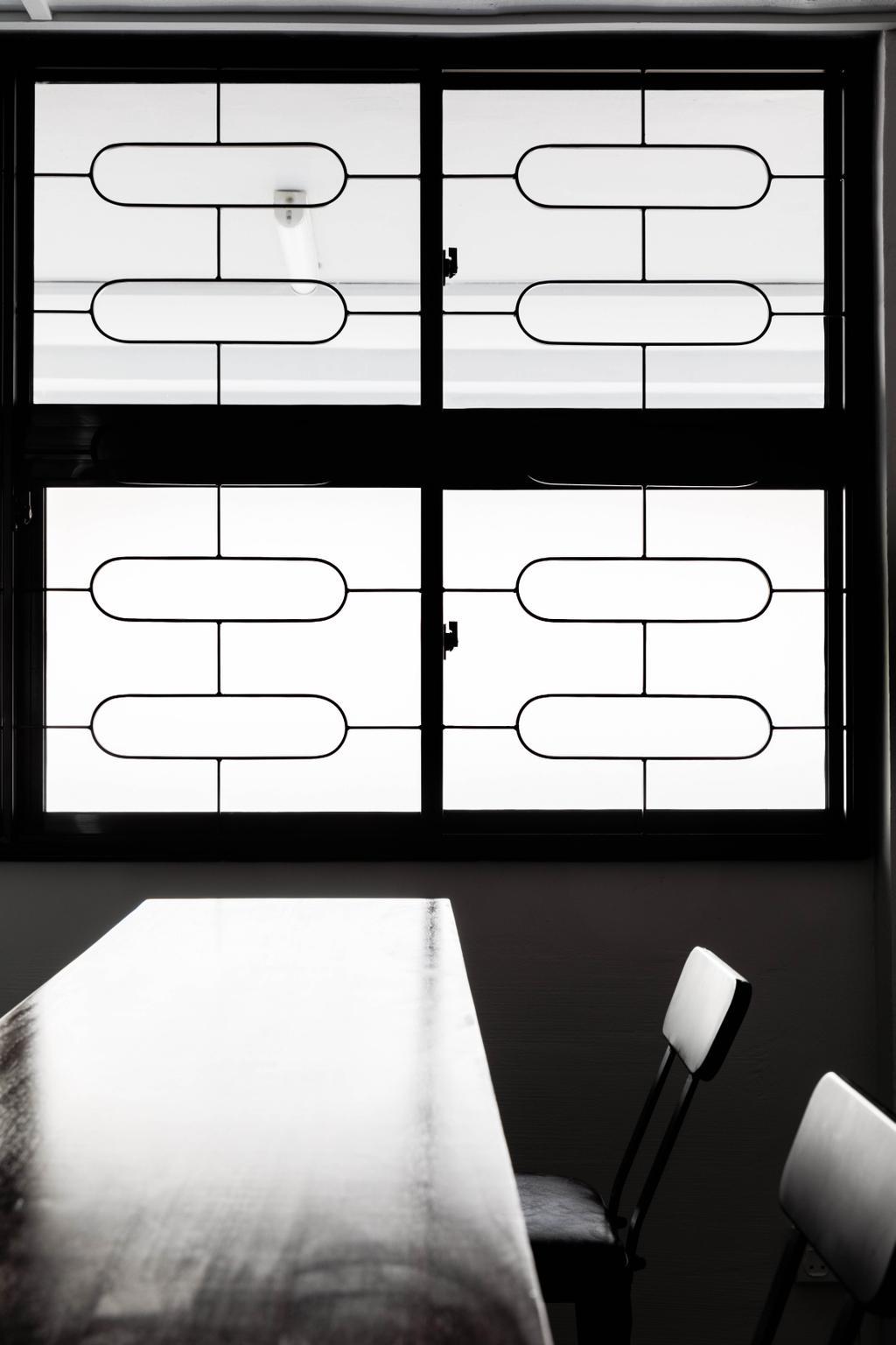 Contemporary, HDB, Dining Room, Serangoon Avenue 3, Interior Designer, ELPIS Interior Design