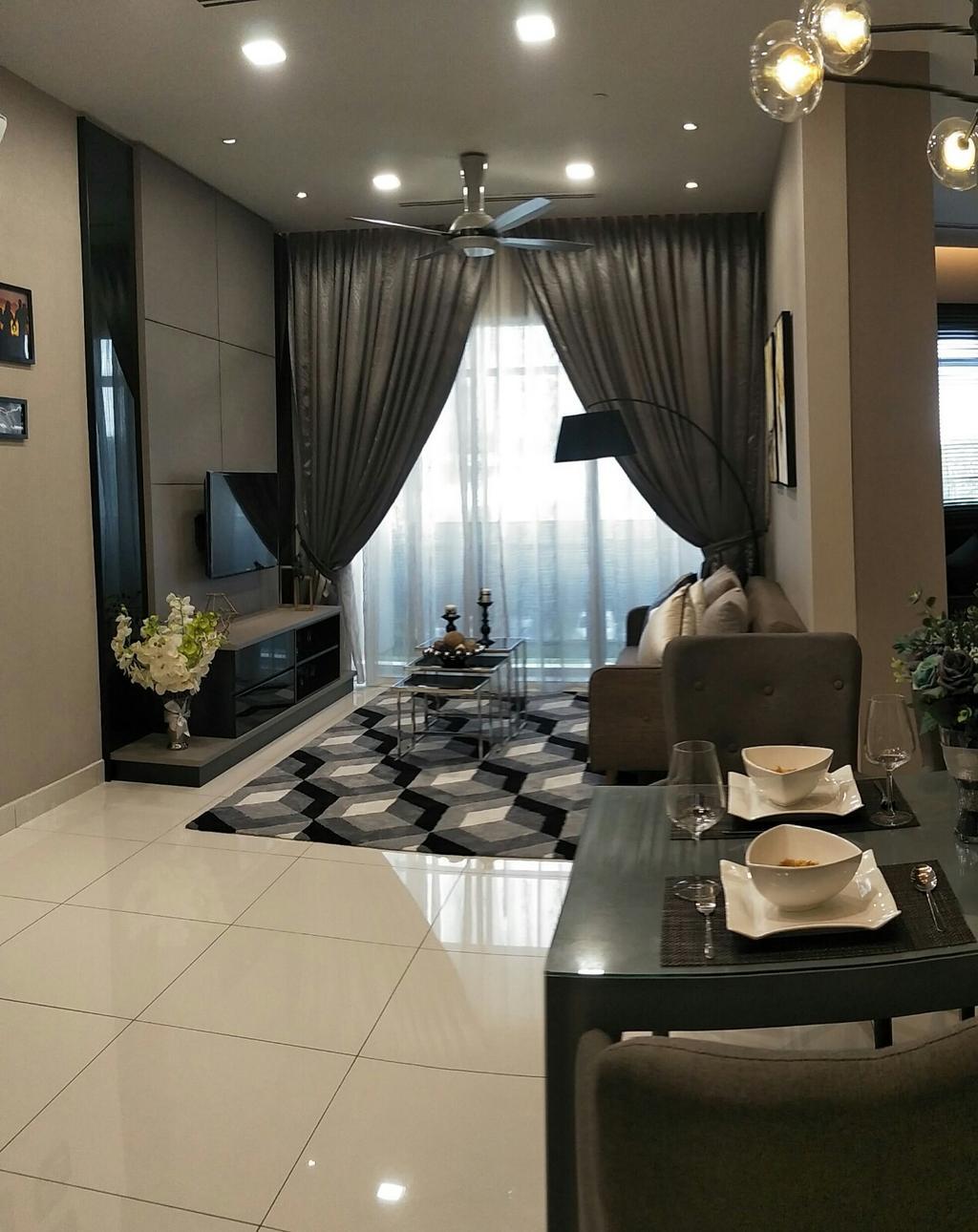Modern, Condo, Cyberjaya, Interior Designer, Dohson Sdn. Bhd.