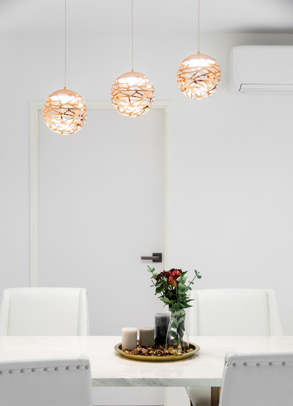 Contemporary, HDB, Dining Room, Buangkok Crescent, Interior Designer, Builders Plus, Minimalistic