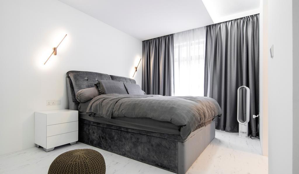 Contemporary, HDB, Bedroom, Buangkok Crescent, Interior Designer, Builders Plus, Minimalistic