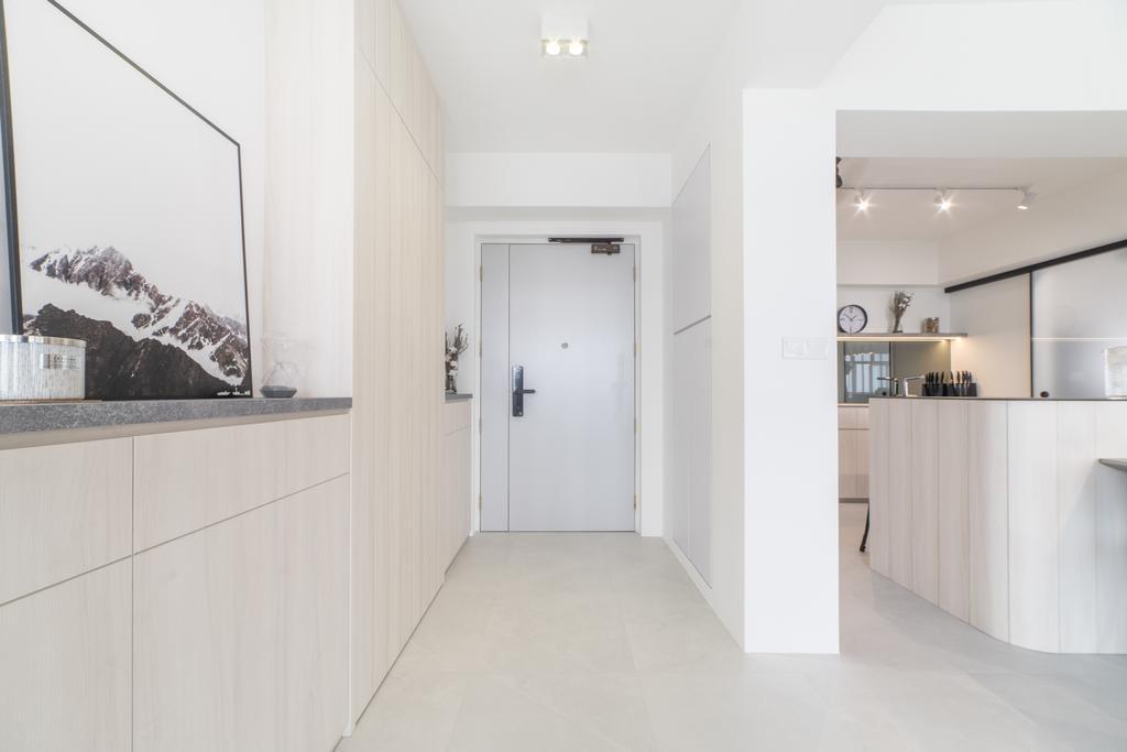 Scandinavian, HDB, Living Room, Edgedale Plains, Interior Designer, Builders Plus, Minimalistic