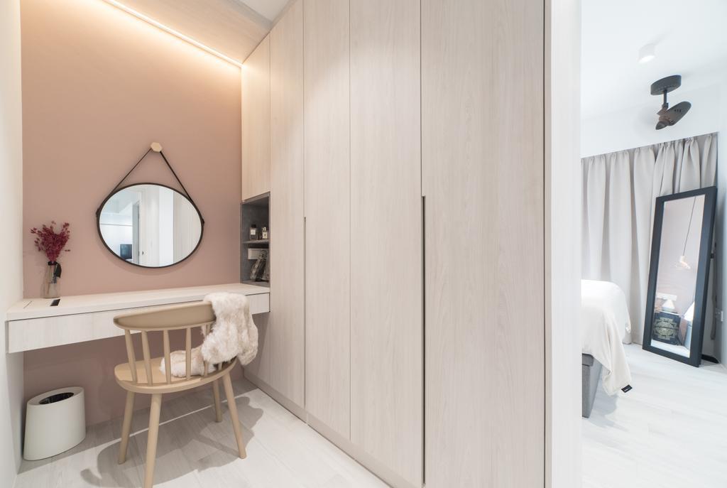 Scandinavian, HDB, Edgedale Plains, Interior Designer, Builders Plus, Minimalistic