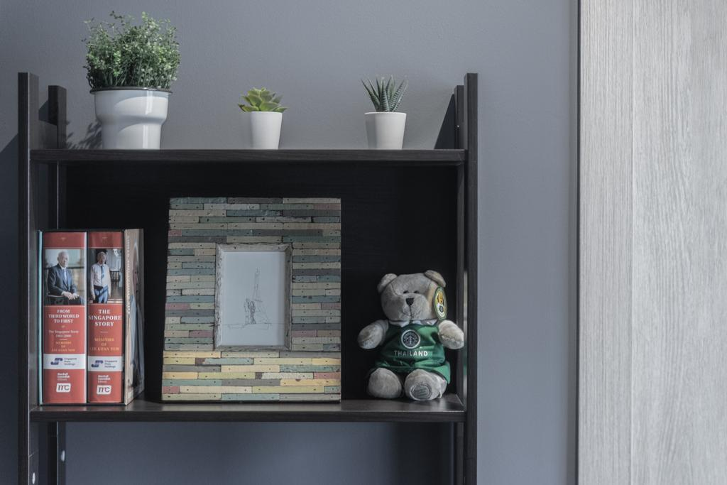 Modern, Condo, Living Room, The Alps Residences, Interior Designer, Builders Plus, Scandinavian