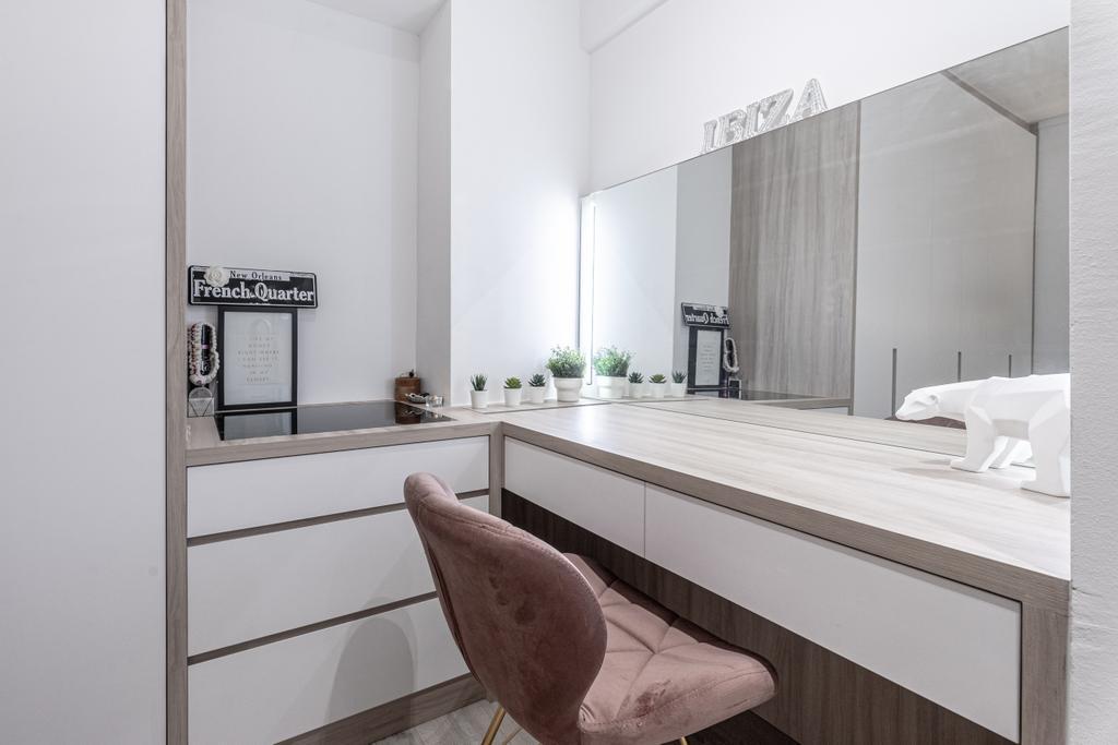 Modern, HDB, Bedroom, Pasir Ris Street 21, Interior Designer, Builders Plus