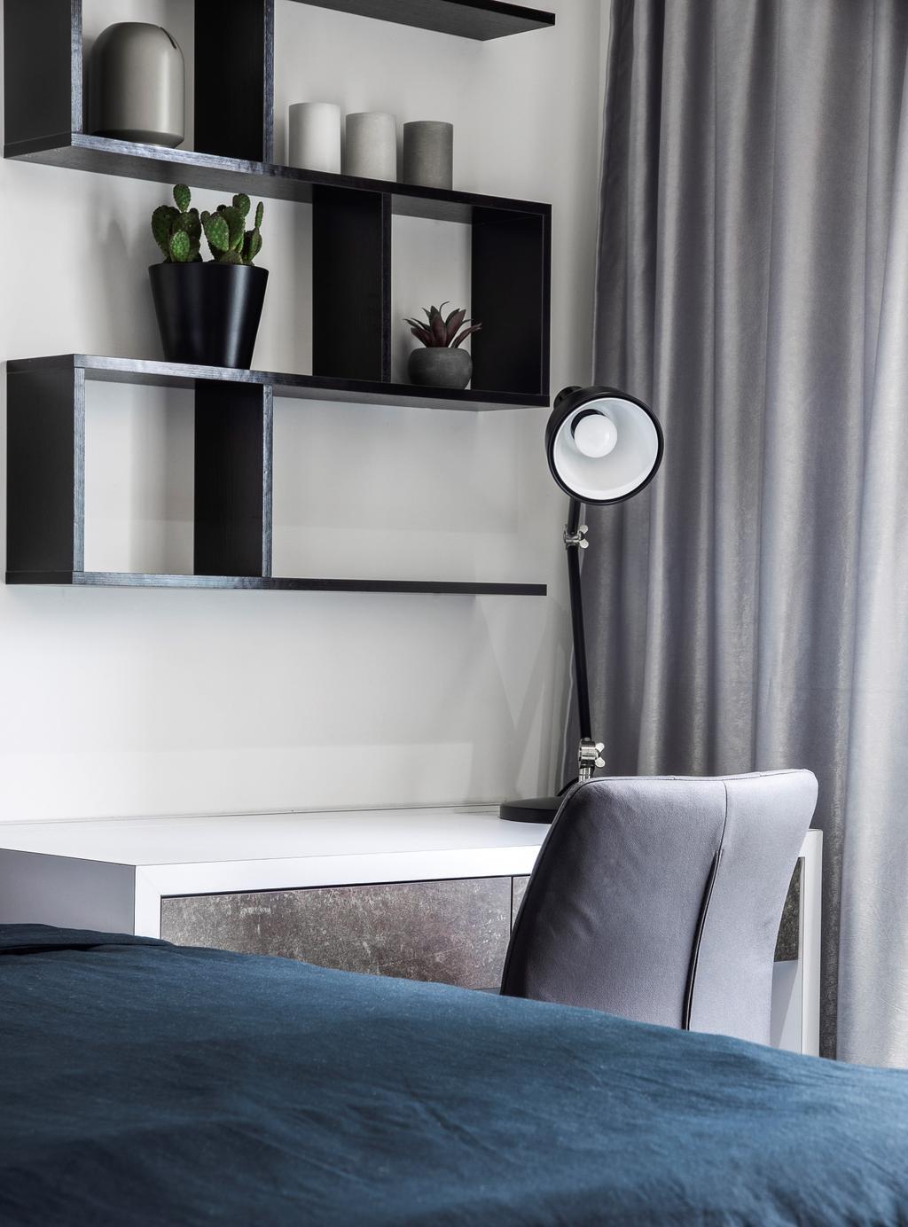 Contemporary, HDB, Bedroom, Sumang Walk, Interior Designer, Builders Plus