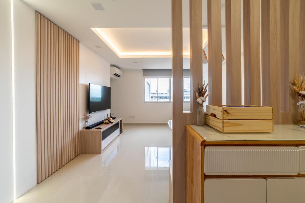 Scandinavian, HDB, Living Room, Ang Mo Kio Street 52, Interior Designer, Builders Plus