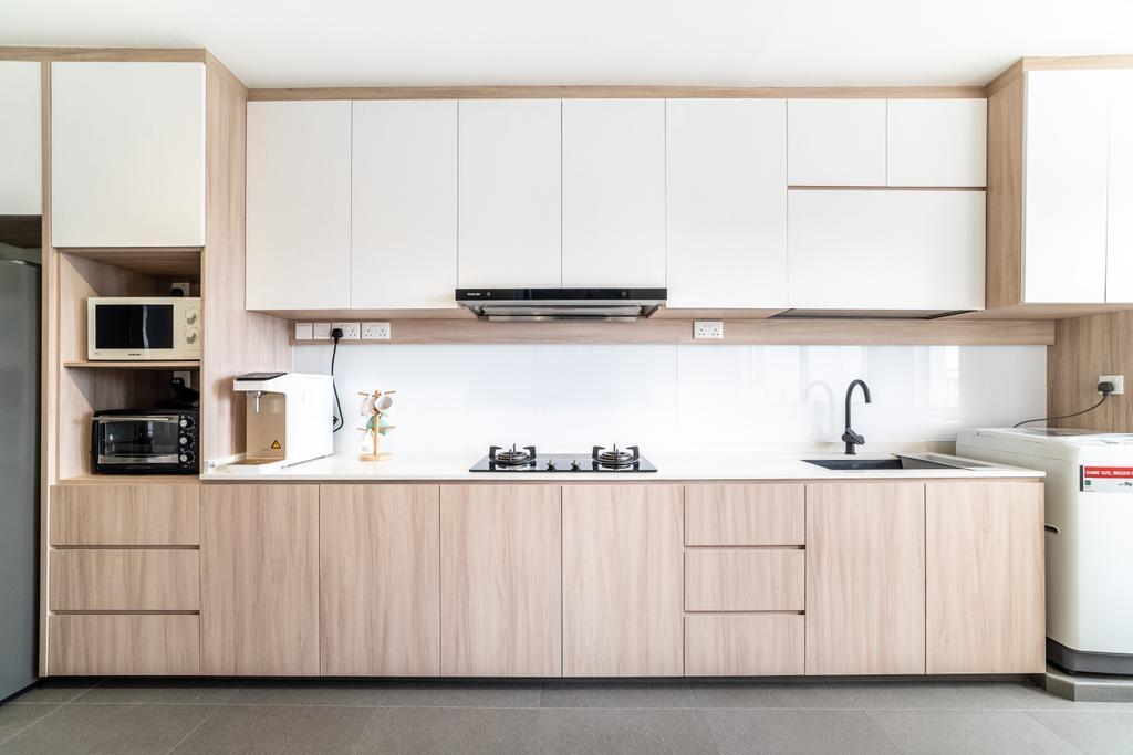 Scandinavian, HDB, Kitchen, Ang Mo Kio Street 52, Interior Designer, Builders Plus