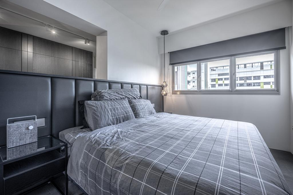Modern, HDB, Bedroom, Tampines North Drive 1, Interior Designer, Builders Plus, Contemporary